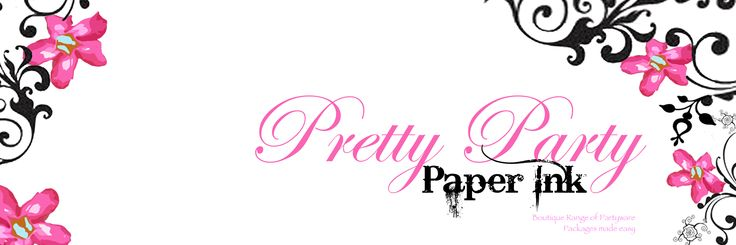 Pretty Party Paper Ink is a new place to find invitations and digital downloads and boutique party packages