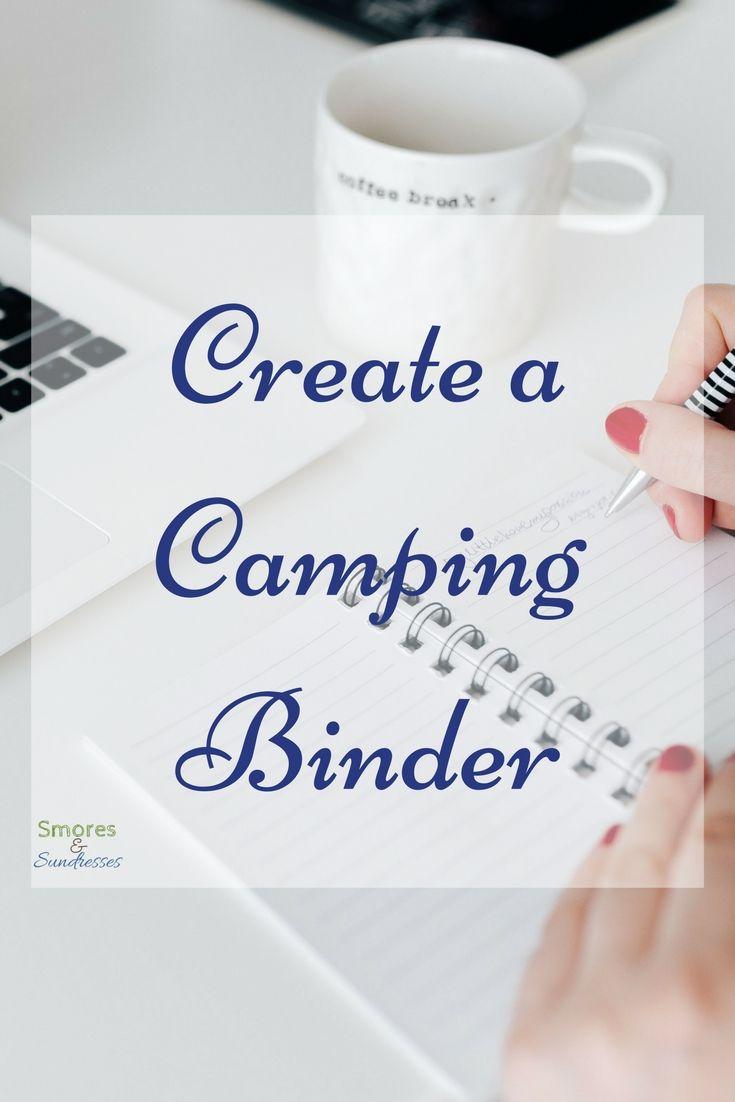 Smores & Sundresses - Create a Camping Binder