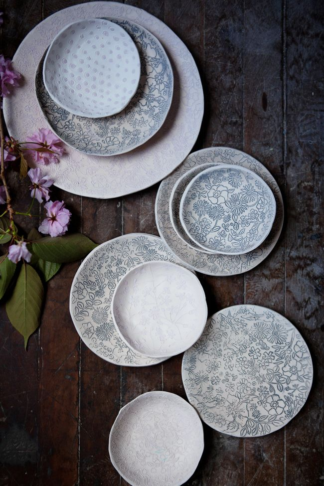 plates from dorotea ceramics | dinnerware + tableware