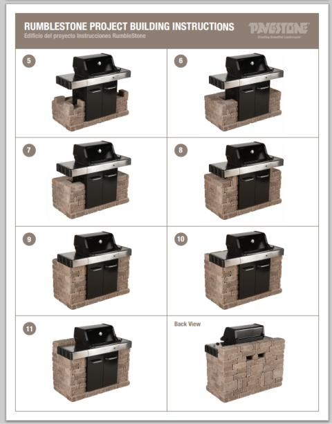 19 Best Images About Bbq Surround On Pinterest