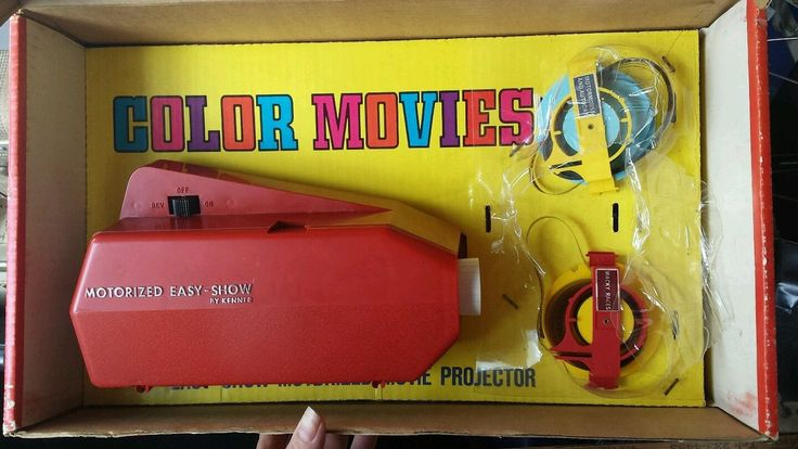 Princess Toys Box Storage Kids Girls Chest Bedroom Clothes: Vintage Toy Kenner Easy Show Movie Projector