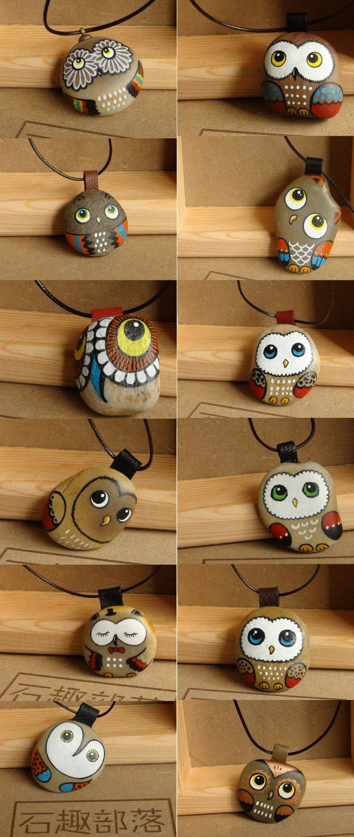 Adorable owls! Maybe you could use the original surface as the background color?