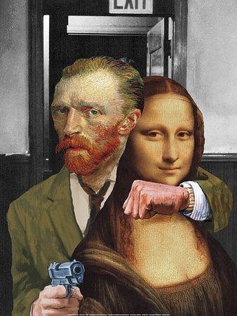 Parodie artistiche Stampe su AllPosters.it
