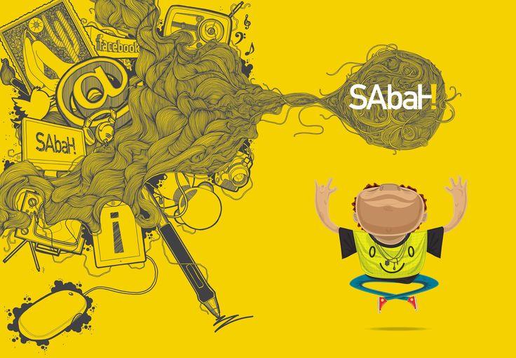 Sabah! Publicidade