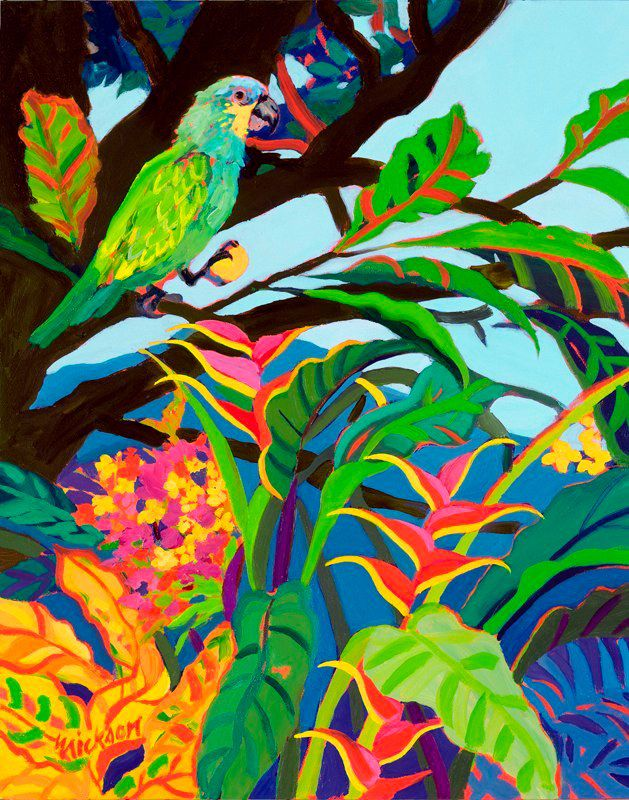 Tropical Bird by Shari Erikson