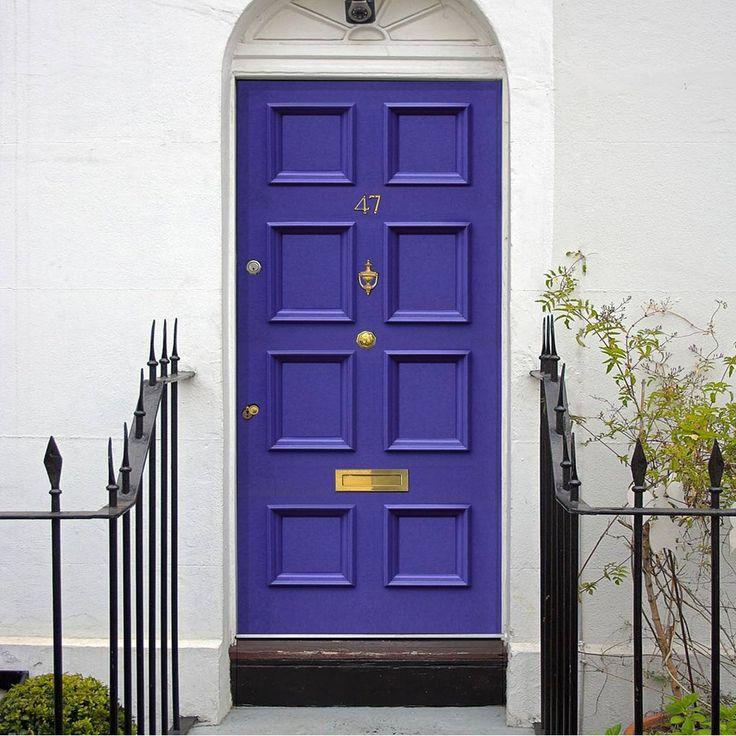 Made to order exterior door, Georgian Bird door - made to measure to your sizes. #victoriandoor #traditionalenglishdoor #solidfrontdoor