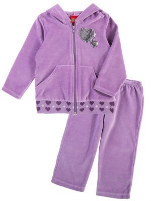 Велюровый спортивный костюм для девочки Kyly - удобная и красивая одежда на каждый день.