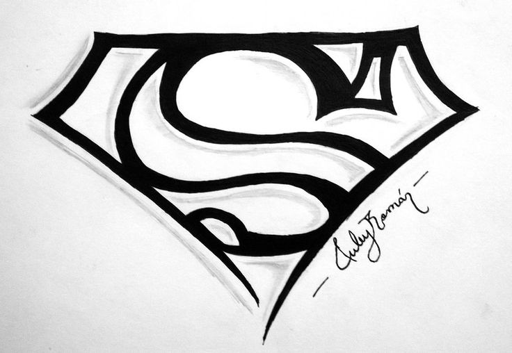 Tribal of Superman logo
