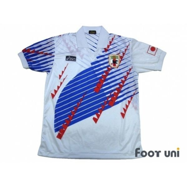 Photo1: Japan 1994 Away Shirt ASICS - Football Shirts,Soccer Jerseys,Vintage Classic Retro - Online Store From Footuni Japan