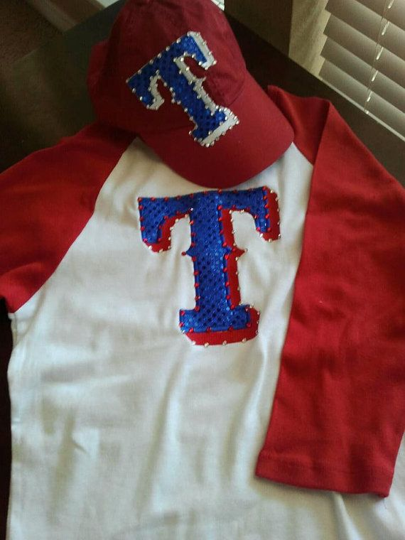 Ladies Texas Rangers Shirt by LibbyCouture on Etsy