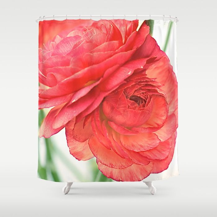 Buy Vintage Ranunculus (10) Shower Curtain by maryberg. Worldwide shipping available at Society6.com. Just one of millions of high quality products available.