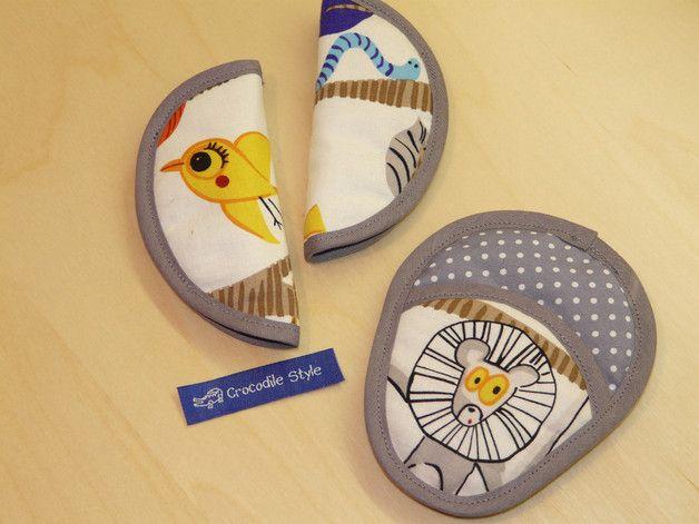 _Gurtschoner passend für alle Babyschalen und Kinderautositze mit 3-Punkt-Gurtsystem (NICHT für den Maxi Cosi PEBBLE)_  Die Schoner sind komplett individualisierbar: wählen Sie aus einer Vielzahl...