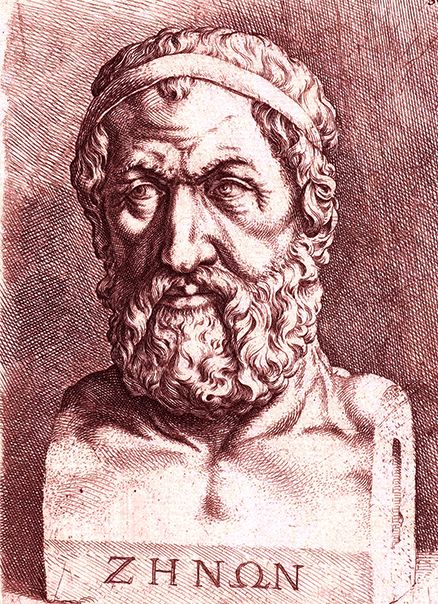 Zenon (Elea, 490 BCE) was a pre-Socratic Greek philosopher of Magna Graecia and a member of the Eleatic School founded by Parmenides. His arguments are the first examples of the proof method called reductio ad absurdum and the source of the dialectic method used by Socrates. He is best known for his paradoxes on the illusion of motion. Zeno is also regarded as the first philosopher who dealt with the earliest attestable accounts of mathematical infinity.