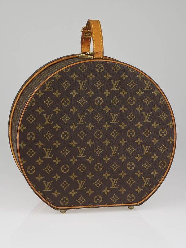 Louis Vuitton Monogram Canvas Boite Chapeaux Ronde Hat Box
