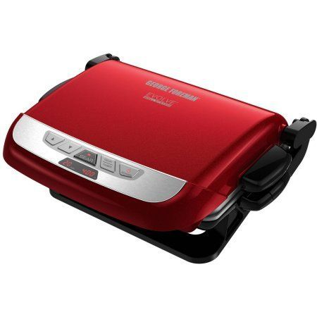 George Foreman Evolve Grill, Waffle Maker, Panini with Removable Plates, Red - Walmart.com