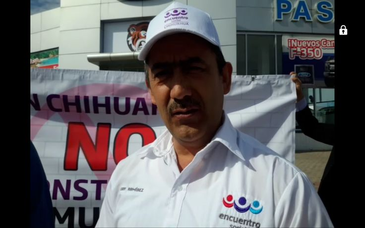 Se manifiesta Encuentro Social en la Ford de las Américas en contra de que inversiones extranjeras se vaya de México por política de Trump | El Puntero