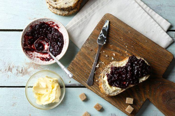 La marmellata di uva fragola è un ottimo modo per iniziare la giornata © Fotolia