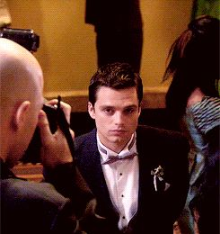 That moment when you somehow forget that Sebastian Stan THE WINTER SOLDIER... was in Gossip Girl. :P