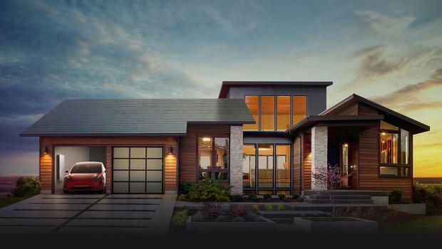 Tesla has designed appealing solar tiles which are built right into your roof. Nice work!