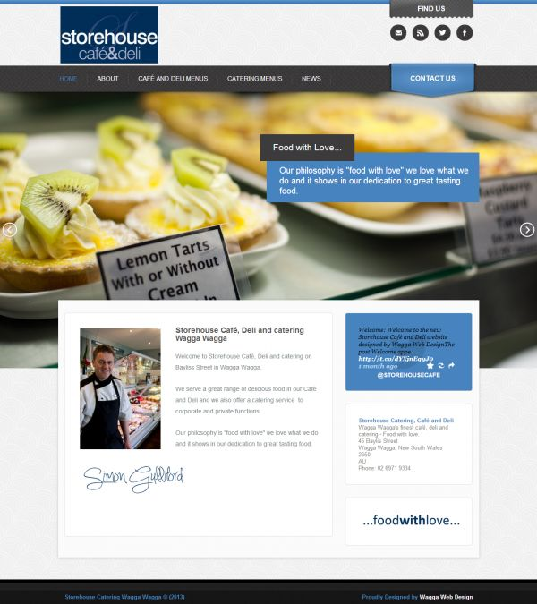 Storehouse Catering Wagga Wagga - Food With Love http://www.waggawebdesign.com/catering-wagga-wagga/