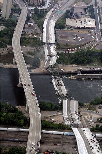 I 35 Bridge collapse MN