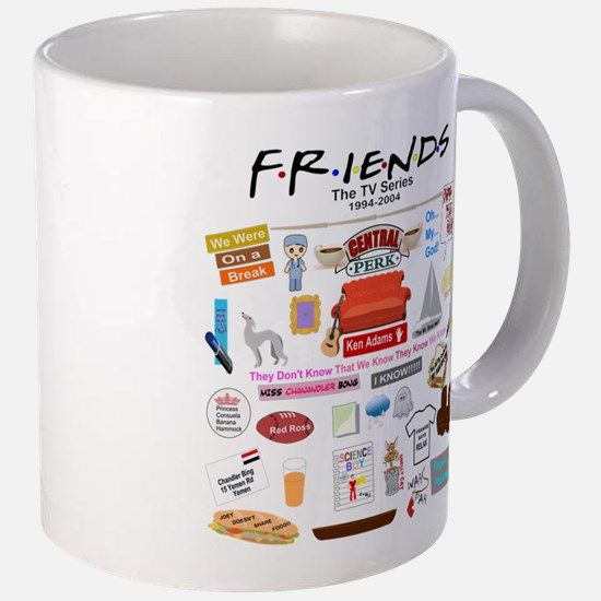 Friends Symbol and Quotes Mugs for