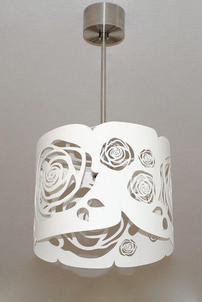 LAMPA nowoczesna niezwykly design WHITE ROSES - Archerlamps - Lampy wiszące
