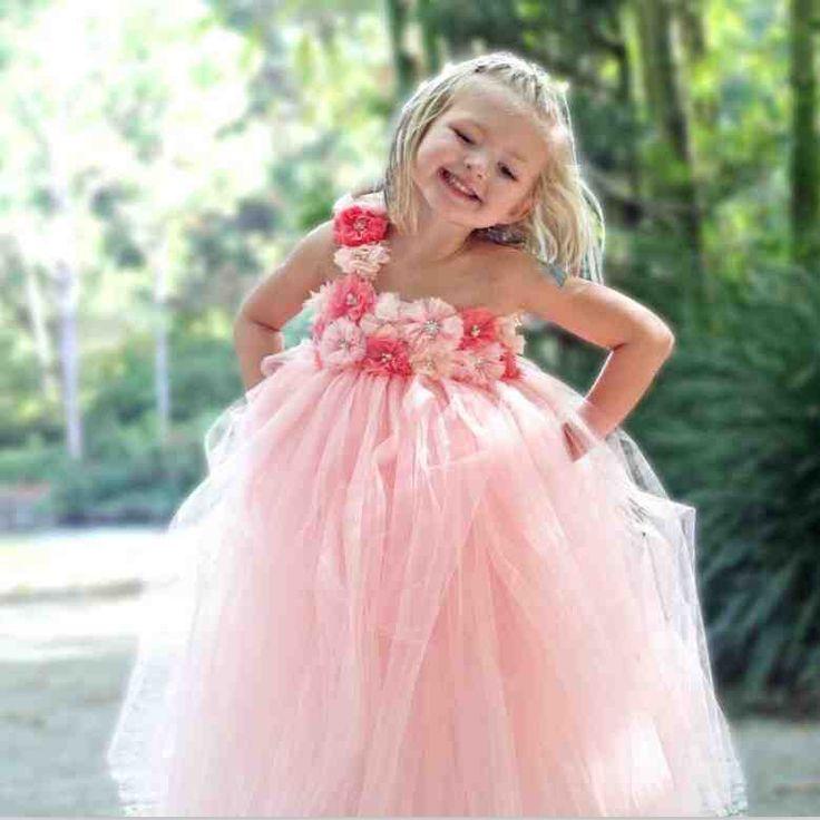Mejores 70 imágenes de flower girl dresses 2 en Pinterest | Damitas ...
