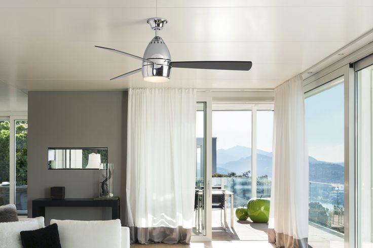 Las opciones con tres aspas le dan un toque minimalista a tu hogar.