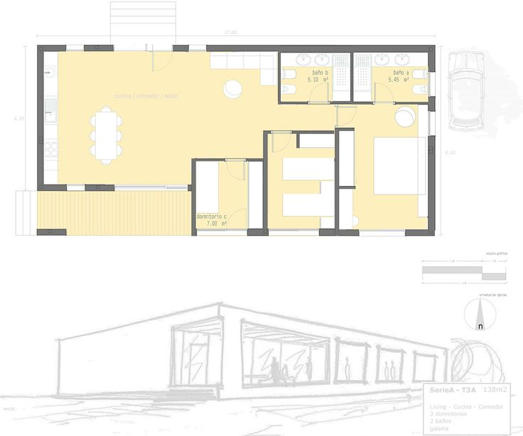 Casas prefabricadas viviendas industrializadas minimal - Casas bioclimaticas prefabricadas ...