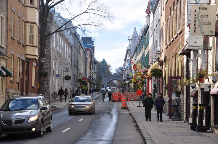 st. louis, old town, old quebec, fort, gate, quebec, quebec city, canada, canada travel, travel, tourism, fall, autumn, picturesque