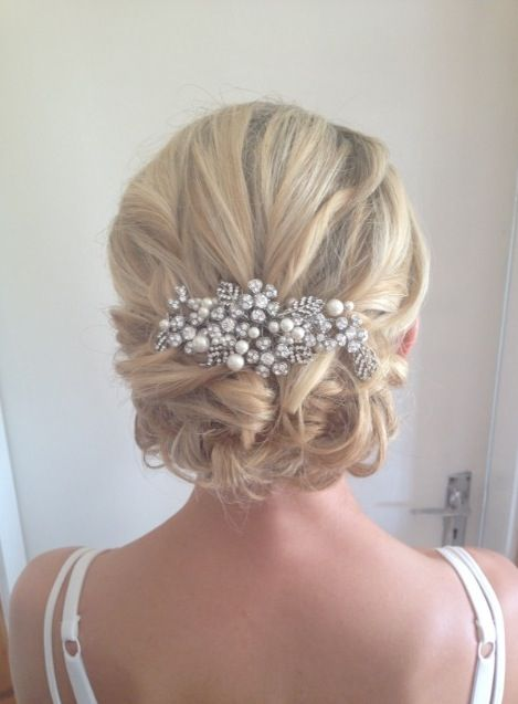 Love this for a beach wedding Wedding hair trends 2014