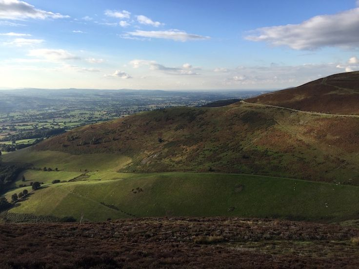 Moel Famau in North Wales, October 2016