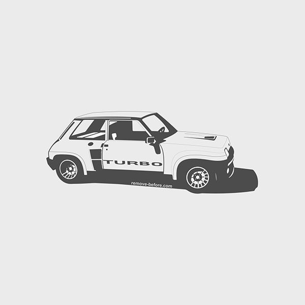 Renault 5 Turbo by Marc Carreras