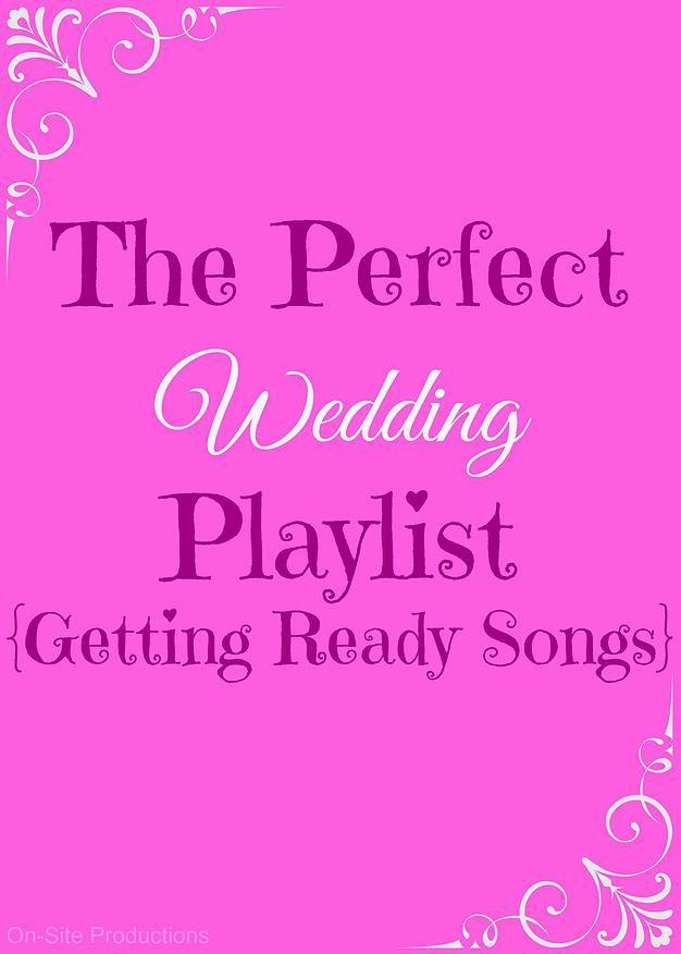 wedding play list