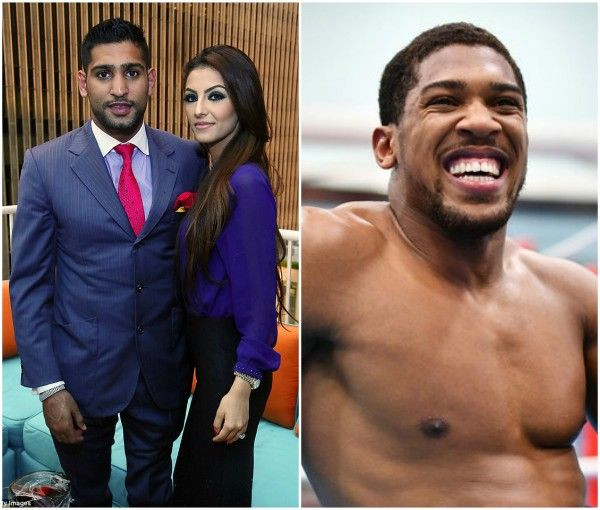 Amir Khan apologizes to Anthony Joshua after he accused him of having an affair with his wife http://ift.tt/2wAseqD