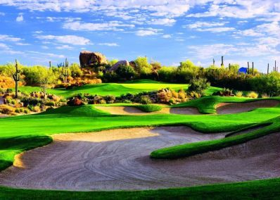 Monument Course at Troon North Golf Club, Scottsdale - Book a golf holiday or golf break