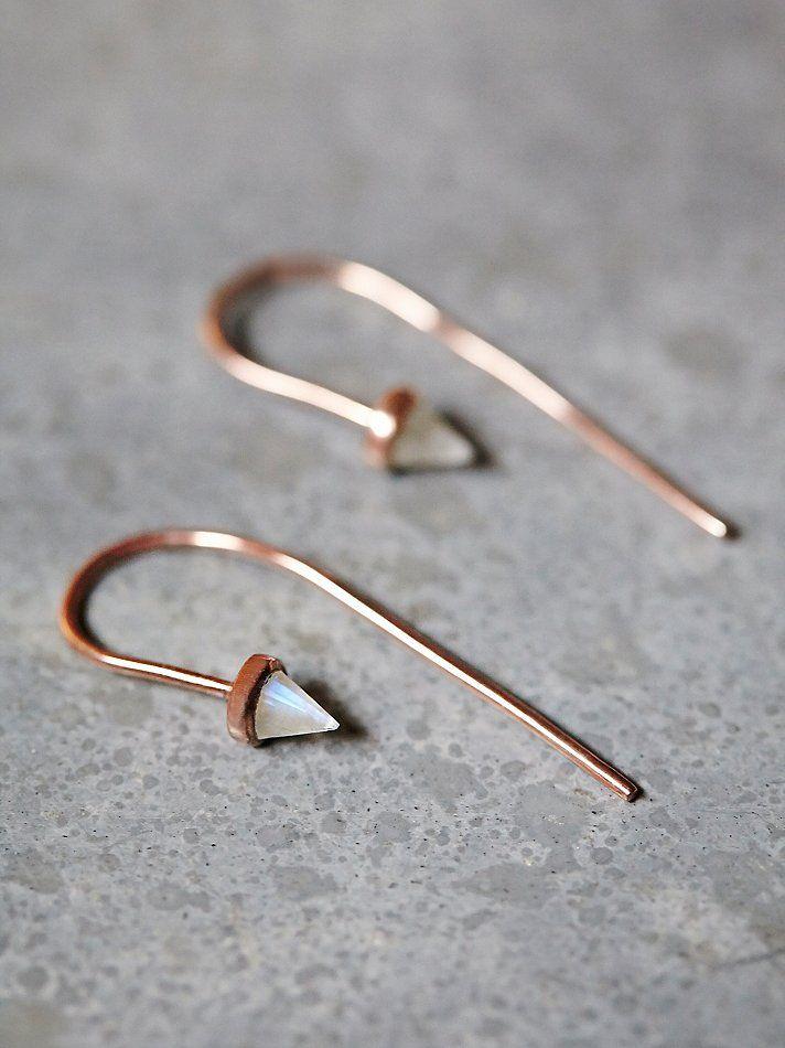 Free People Ivy Threader Earrings, £168.00