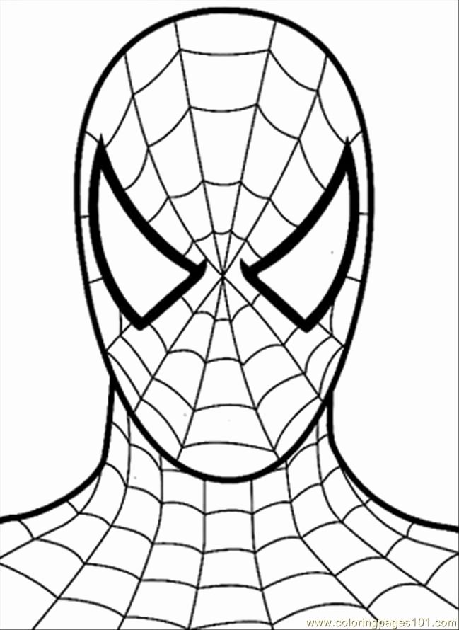 Spiderman Coloring Pages For Kids Pdf In 2020 Spiderman Pumpkin Stencil Spiderman Painting Spiderman Coloring