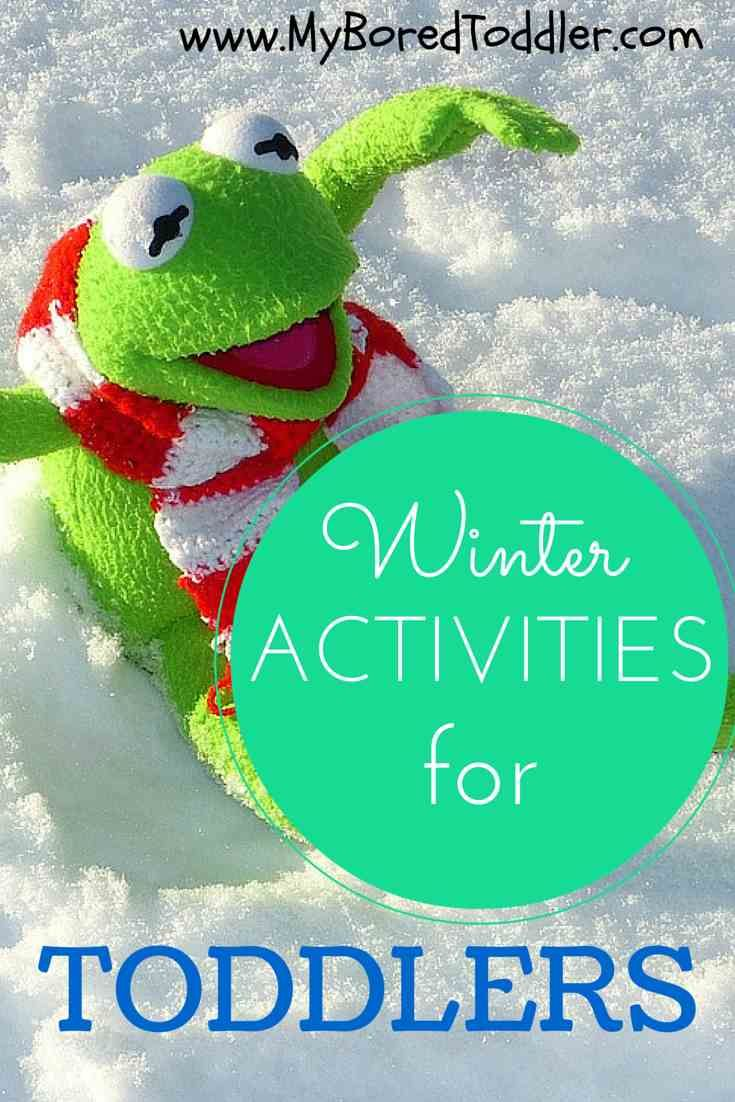 Winter Activities for Toddlers, Winter crafts for toddlers, My Bored Toddler www.MyBoredToddler.com