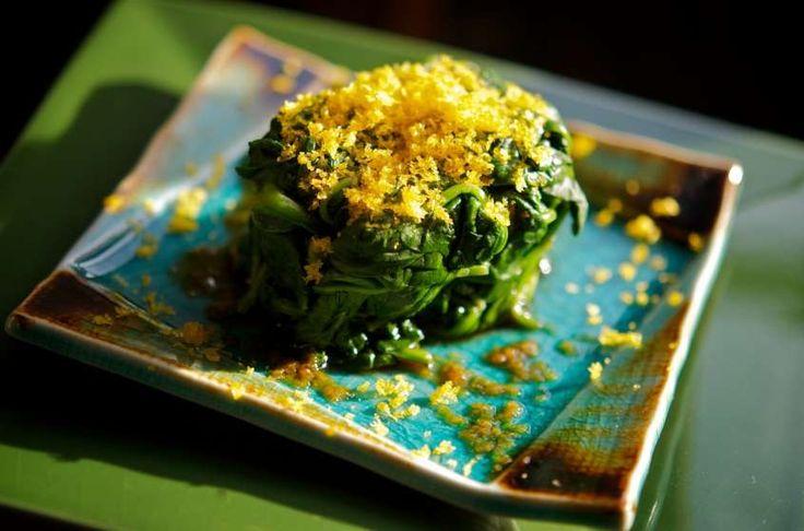 Ricette con la bottarga - Tortino di spinaci e bottarga