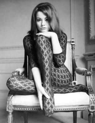 <0>  Claudine Auger as Domino in Thunderball 1965, the fourth spy film in the James Bond series starring Sean Connery as the fictional MI6 agent James Bond. Read Bond articles at: http://www.whattravelwriterssay.com/multicountrytravelindex.html