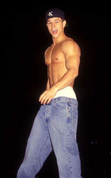 Wahlberg, 1995 - A Look at Famous Shirtless Men Throughout the Ages -- The Cut
