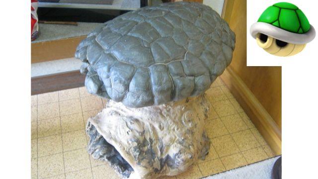 Un guscio di tartaruga