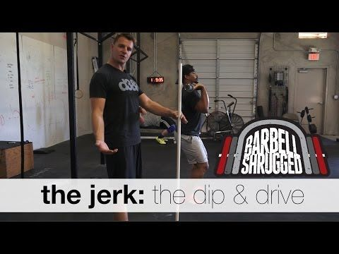 The Jerk: The Dip and Drive - Technique WOD - YouTube