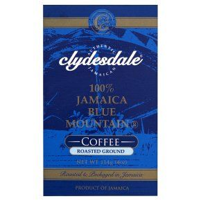 Clydesdale Jamaica Blue Mountain roasted ground coffee beans - Waitrose