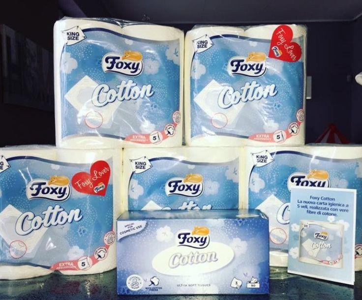Nuovo post sul mio blog:   NUOVA FOXY COTTON...MOLTO PIÙ DI UNA CARTA IGIENICA!   https://bellezzaprecaria.blogspot.it/2017/07/nuova-foxy-cottonmolto-piu-di-una-carta.html   Grazie alla piattaforma TRND Italia - UnOfficial FanPage sono stata selezionata per provare e far provare la nuova carta igienica Foxy Cotton.   Questo progetto mi ha davvero stupito perché non pensavo ci fosse chissà cosa da innovare sul mondo carta igienica, cosa che ho scoperto solo provandola e toccandola con mano…