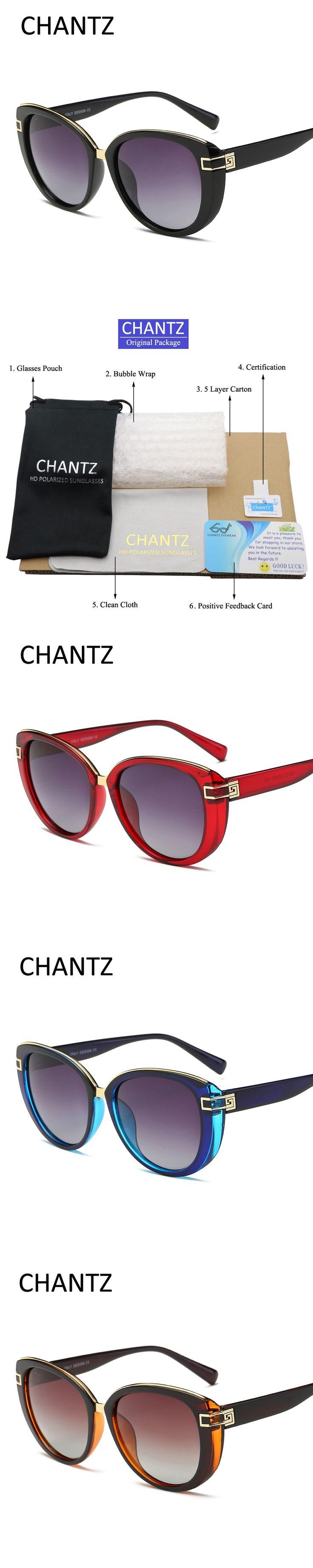 Top Quality Cat Eye Sunglasses Women Polarized Sun Glasses Vintage Round Female Shades Fashion UV400 Oculos De Sol Feminino