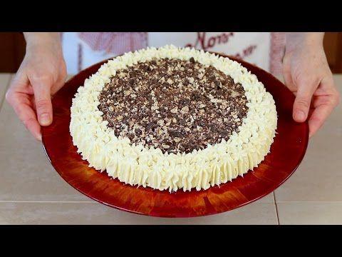 CHEESECAKE AL TORRONE Ricetta Facile - Nougat Cheesecake Easy Recipe - YouTube
