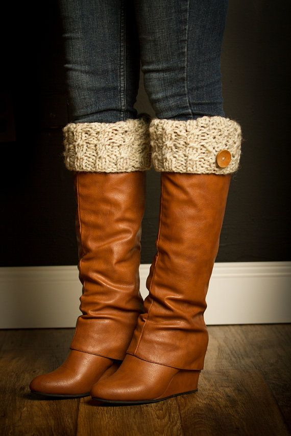 Boot Cuffs Boot Toppers Womens Boot Cuffs  Ready by Sebastianseven, $24.99